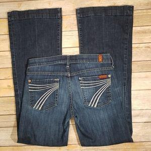 7FAMK Dojo jeans size 26